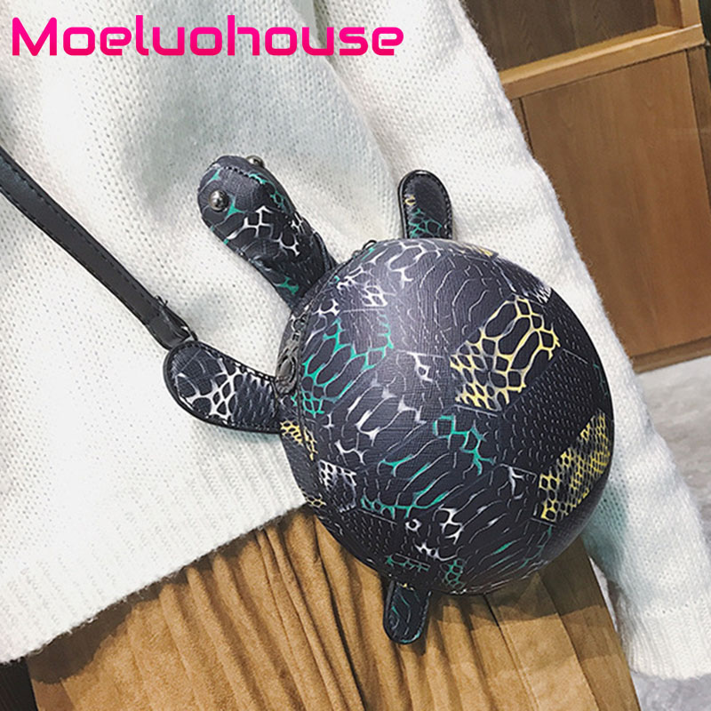 Moeluohouse Tortoise Shape Bag Women Shoulder Messenger Crossbody Mori Girl Zipper Black Korean Style Cute Fashion Special GiftMoeluohouse Tortoise Shape Bag Women Shoulder Messenger Crossbody Mori Girl Zipper Black Korean Style Cute Fashion Special Gift