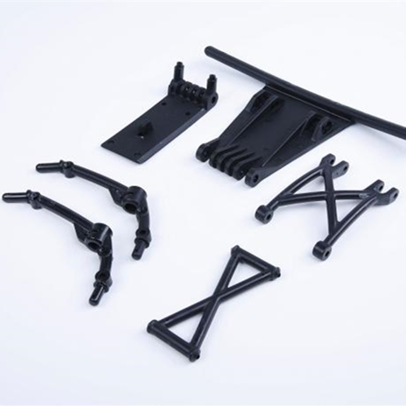 Black Plastic 5B Upgrade to 5sc Front Bumper kits fit hpi baja 5sc rovan king motor