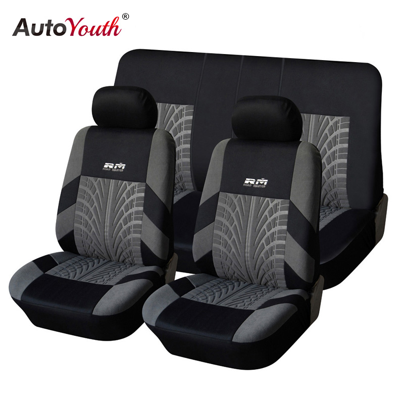 AUTOYOUTH Sitzbezüge Fahrzeuge Unterstützt Auto Sitz Abdeckung Set Auto Sitzbezüge Auto Seat Protector Für Lada TOYOTA Corolla bmw e46