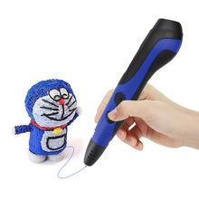 Dr.Memory 3D Printer Pen With Oled Screen Display 3D Painting Adjustable Speed Button 3D Pen 6 Generation Pens For Kids Drawing
