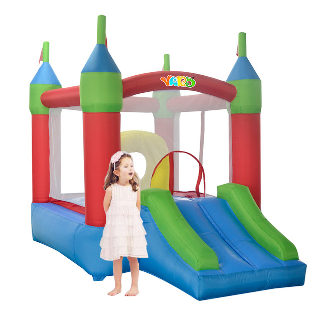 YARD Free Shipping Inflatable Bouncer Bouncy Obstacle Castle Exicting Amusement Park For Family Party