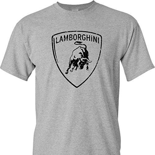 Lamborghini Logo Print T-Shirt (10 Colors)