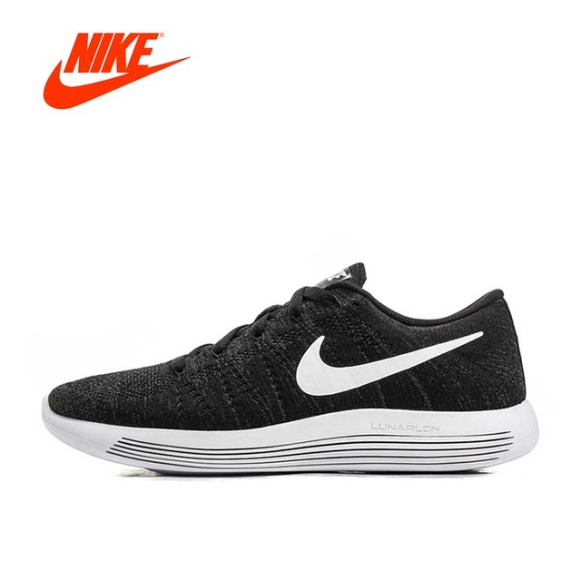 65bac8f04f9d2 Offcial New Arrival Authentic Nike Flyknit LUNAREPIC 8 Men s Light Running  Shoes Sneakers