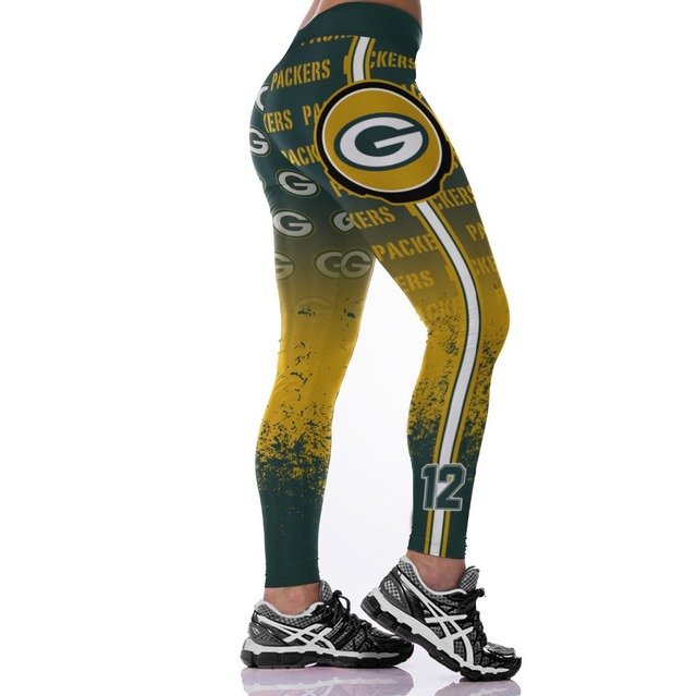 Unisex Football Team Chargers Print Tight Pants Workout Gym Training Running Yoga Sport Fitness Exercise Leggings Dropshipping