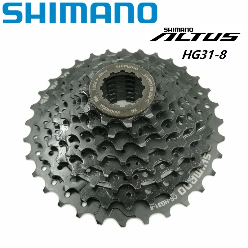 Original <font><b>SHIMANO</b></font> A LTUS CS <font><b>HG31</b></font> <font><b>8</b></font> Speed Cassette Freewheel 11-32T <font><b>8</b></font>/24 Speed MTB Mountain Bike Flywheel <font><b>HG31</b></font>-<font><b>8</b></font> image