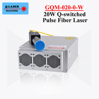 20W Q switched Pulse Fiber Laser Series GQM B 020 1064nm High Quality Laser Marking Machine DIY PART