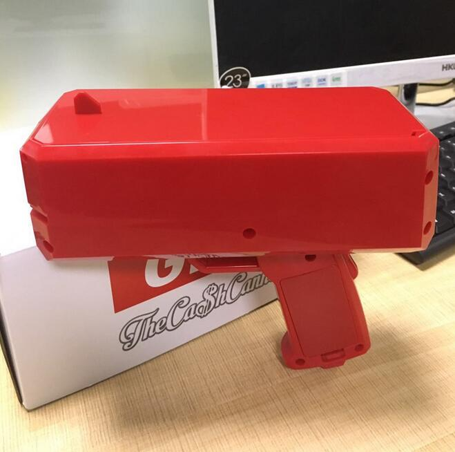2020 HOT ins Funny Cash Cannon Money Gun Money Rain Pistol Toys For Bar Birthday Party toys