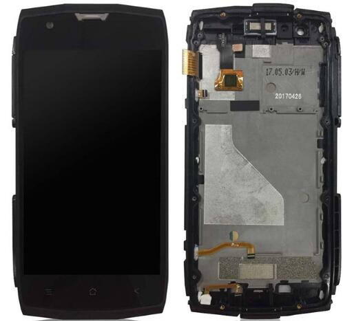 with frame New touch screen with lcd For Archos Sense 50X  Touch panel Digitizer Glass Sensor 1920x1080 with tools