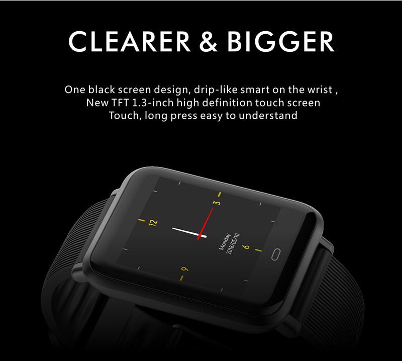 Reloj inteligente IP67 con Monitor de ritmo cardíaco 11