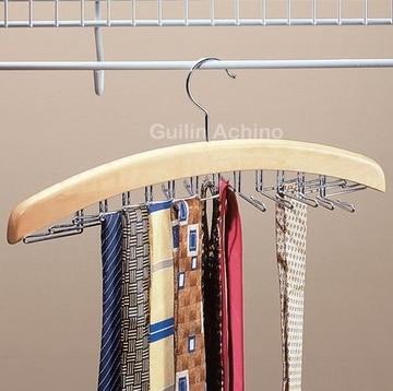 Livraison gratuite Bois tie rack tie strap courroie de support ...
