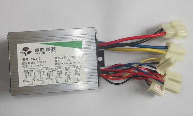 Free Shipping 800W 48V DC brush motor controller E-bike electric bicycle speed control 10 50v 100a 5000w reversible dc motor speed controller pwm control soft start high quality