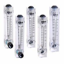 LZM-15T 1-7LPM тип панели Жидкостный расходомер воды ротаметр расходомер с регулирующим клапаном