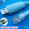 3.6mtr, ftdi usb rs232 ao cabo do console rj45 para roteador cisco, huawei roteador, interruptor