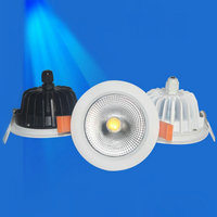 Waterproof IP65 Dimmable LED Downlight 10W 15W COB LED Spot Light LED Ceiling Lamp Free