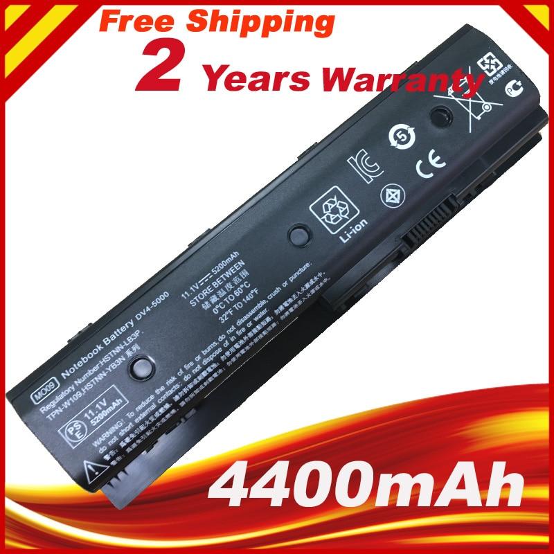 6cell Laptop Battery For HP Pavilion DV4 5000 DV6 7000 DV6 8000 DV7 7000 MO06 MO09