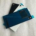 Для Sony xperia Z2 Заднее Стекло L50W D6503 Оригинальный задний Назад стекло Крышка Корпуса С NFC Антенны Чип Z2 Крышка Батареи Жилья