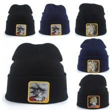 2019 High Quality Dragon Ball Goku Knitted Hat Beanies Winter Warm Hats Casual Men Women Hip hop Autumn Winter cap Skullies недорго, оригинальная цена
