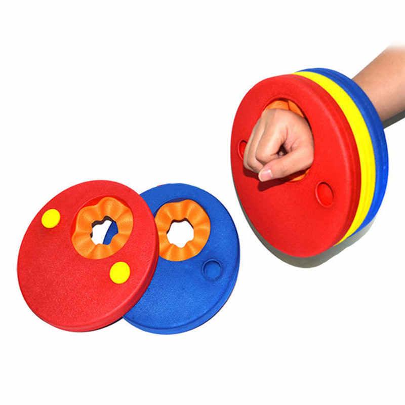 Drop Shipping แผ่นโฟมวงแขนว่ายน้ำเทรนเนอร์เด็ก armlet สำหรับแหวนว่ายน้ำแหวนสระว่ายน้ำ Accessorie EVA
