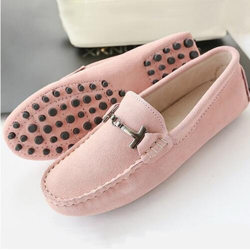 2017 Shoes Women 100% Genuine Leather Women Flat Shoes Casual Loafers Slip On Women's Flats Shoes Moccasins Lady Driving Shoes цена и фото
