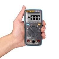 ZT100 LCD Dijital Multimetre 4000 Sayımlar Akım Gerilim Direnç, Kapasite Ohm Tester perakende kutusu Ile Otomatik Aralığı Ampermetre