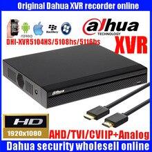 Dahua XVR video recorder DHI-XVR5104HS/DHI-XVR5108HS/DHI-XVR5116HS 4ch 8ch 16ch 1080P Support HDCVI/ AHD/TVI/CVBS/IP Camera