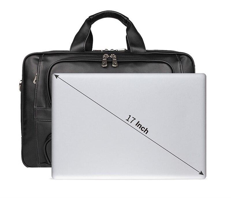 HTB1gqbAegmH3KVjSZKzq6z2OXXa6 MAHEU Vintage Leather Mens Briefcase With Pockets Cowhide Bag On Business Suitcase Crazy Horse Leather Laptop Bags 2019 Design