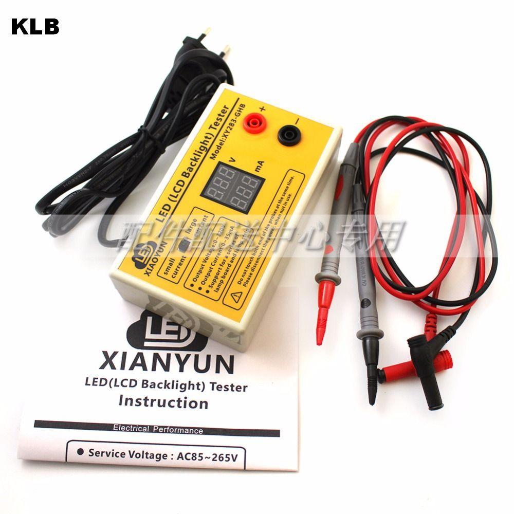 Ferramenta de teste de led e luz de fundo de tv, testador de saída 0-320v, tiras, com exibição de corrente e tensão, para todos aplicação de led