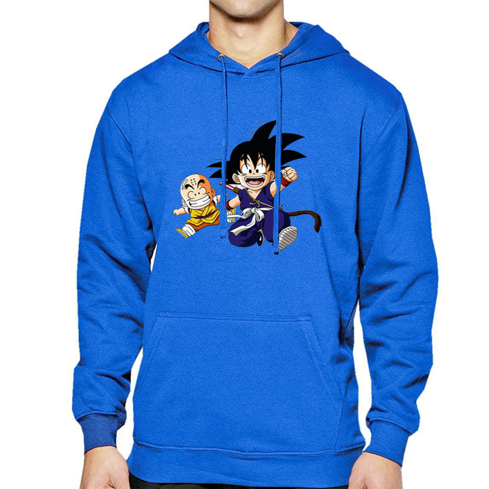 Dragon Ball Z Anime Streetwear Japanese Sportswear Hip Hop Spring Summer Hoodies Male Fleece Tracksuit Pullover Tops Cloth Hoody