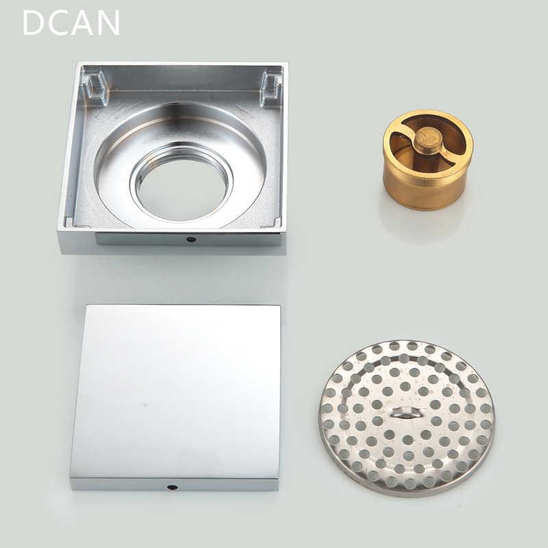 DCAN mosiądz kanalizacji spustowy imbryk podłogi odpływ liniowy z prysznicem odpływy podłogowe łazienka prysznic pokrywa odpływu kuchnia filtr siatkowy ociekaczem