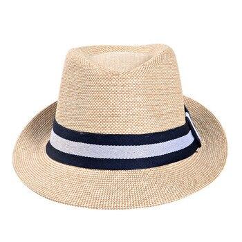 2019 England Retro Fedoras Top Jazz Hat Men Women Spring Summer Casual Hats Cap Classic Sun Hat Beach Panama Hat