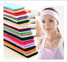 1000pcs fedex/dhl fast Headwrap Sports Biker HeadBand Wrist Band Hair Sweatband Hair Band for Men Women Girls Accessories недорого