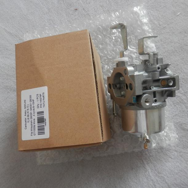 GENUINE MIKUNI CARBURETOR ASY FOR MITSUBISHI GT1000 10HP 4 STROKE MOTOR FREE SHIPPING CARBY   GASOLINE CARB PETROL TILLER PARTS original 26mm mikuni carburetor for cbt125 cb125t cbt250 ca250 carburador de moto