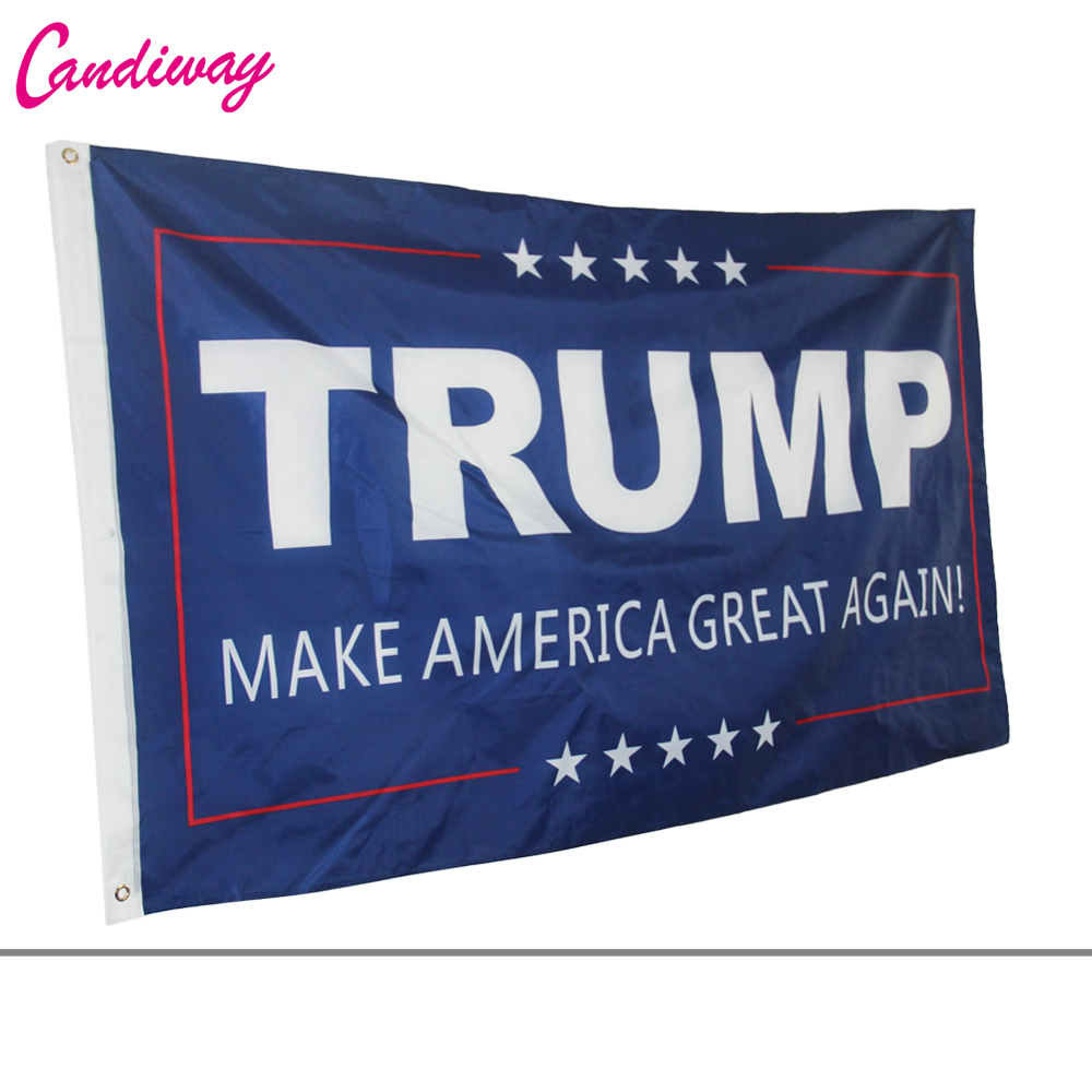 American flag <font><b>90*150</b></font> cm flag TRUMP for president make America great again for Donald Trump US Banner image