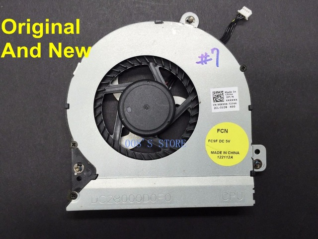 New Original CPU Cooling Fan For Dell Alienware M18x R1 R2 R3 M18xR2 FORCECON DFS602205M30T 5V 0.5A DP/N J77H4 0J77H4 As Photos