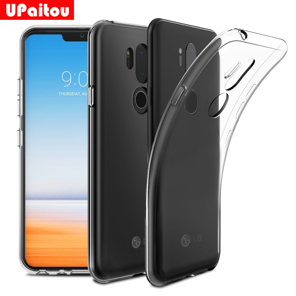 the latest 8bfd3 2707c US $1.29 35% OFF|UPaitou Clear TPU Case for LG G7 ThinQ Case Transparent  Soft Sinicon Back Cover Case for LG G7 Plus G710EM-in Fitted Cases from ...