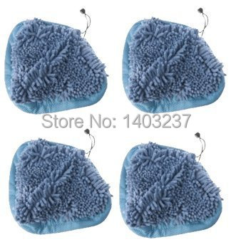4pcs Ultra Absorbant Heavy Duty Deluxe Coral Microfiber Pads compatible with T1 H20 H2O Steamboy Mop дырокол deli heavy duty e0130
