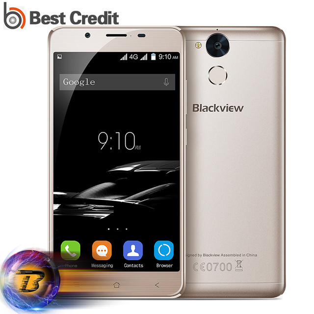 New Blackview P2 Lite Mobile Phone MTK6753 Octa Core 3GB RAM 32GB ROM 5.5 inch 1080P Fingerprient ID 13MP 6000mAh Quick Charge