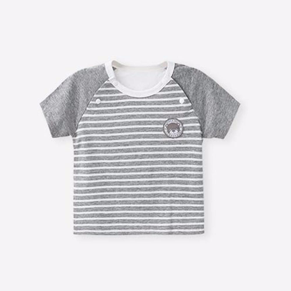 COBROO Baby-streepjes-tops met O-hals korte mouwen Unisex-baby - Babykleding - Foto 3