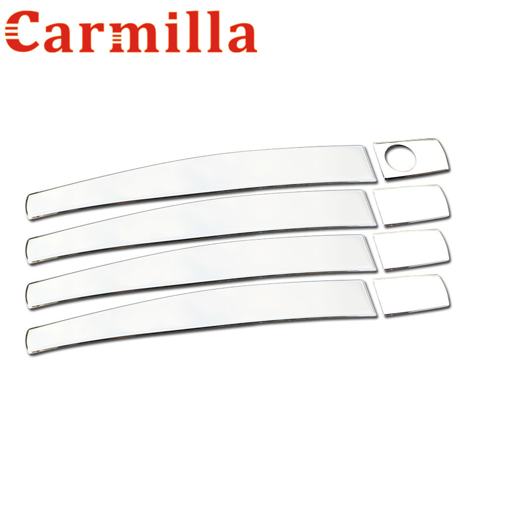 Carmilla stainless steel trim chrome door handle cover accessories for chevrolet chevy epica lova aveo captiva