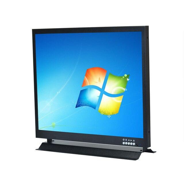400 Zoll TFT LCD Monitor 400x400 Display 4040 CCTV Monitor VGA BNC Extraordinary 3 Monitor Display Stand