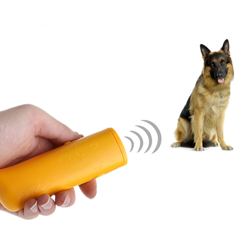 3 in 1 Ultrasonic Anti Bark Stop Barking Dog Training Repeller Control Trainer #0710# Drop shipping