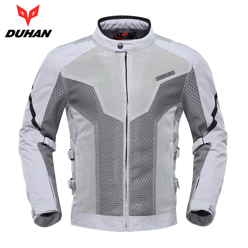 DUHAN Motorcycle Jacket Spring Summer Moto Jacket Motocross Riding Clothing Breathable Motorcycle Jacket Men Protective Gear 2017 new camel outdoor spring summer skin clothing girls waterproof breathable windbreaker sun protective jacket a7s1u7178