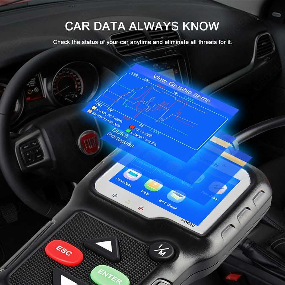 KONNWEI KW680 OBD2 Automotive Scanner Auto Diagnostic Tool