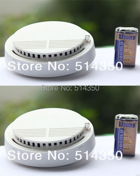 2pcs hot Photoelectric 433/315MHZ Wireless Smoke Detector for Fire Alarm Sensor stable photoelectric wireless smoke detector for fire alarm sensor wireless fire alarm smoke detector for independent style