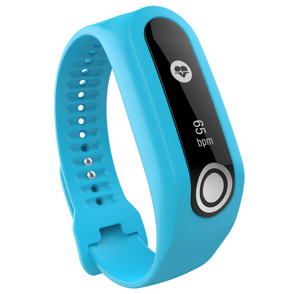 Soft Durable Colorful Strap Wristband Replacement Silicone Watchband Accessories for Tom Tom Touch Fitness Tracker Smart Watch 10