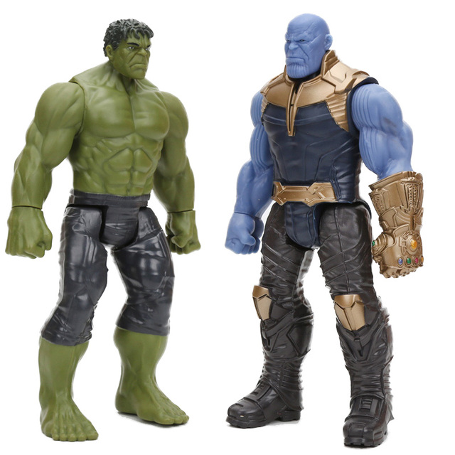 Endgame Thanos figura de brinquedo Do Homem Aranha Homem De Ferro Capitão América Thor Hulk Wolverine Action Figure Brinquedos Bonecas
