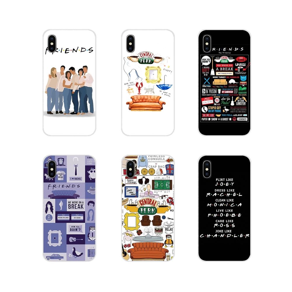 Accessories Phone Cases Covers For Xiaomi Redmi 4A S2 Note 3 3S 4 4X 5 Plus 6 7 6A Pro Pocophone F1 Friends Tv Show Funny image