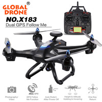 NEW Global Drone X183 With 5GHz WiFi FPV 1080P Camera GPS Brushless Quadcopter Pro Factory Price