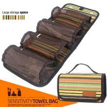 Women Outdoor Portable Wash Make Up Bag Box Travel Cosmetic Bags Makeup Toiletry Kit Ethnic Casual Storage Organizer Hanging Bag недорого