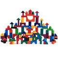 Новинка 2019  112 шт./компл.  маленькие деревянные блоки  цветной Деревянный конструктор  радуга  дерево  для раннего обучения  обучающая игра дл...